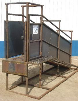 Loading Chute P Amp C Cattle Pens